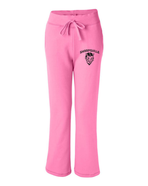 000013_Pink_WomenOpen Bottom Sweats_front2