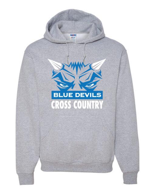 DEVIL XC hoodie 50-50 sport grey